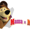 Mashems Series 1 – Masha and the Bear Squishy Toys