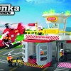 Tonka Town Rescue Helicopter Playset