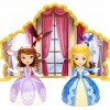NEW Disney Sofia the First Dancing Sisters Mattel Playset