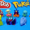 Play Doh Surprise Eggs Pokemon Set Mini Action Figure