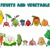 Fruit and Vegetable Names And Colors – The Kids' Show Fun & Educational