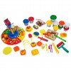 Deluxe Food Set Cooking Machine Play Doh Toy Food Make Ice Creams Burgers Pizza Desserts & More