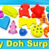 Play-Doh Compound Collection Shopkins SpongeBob Surprise Toys