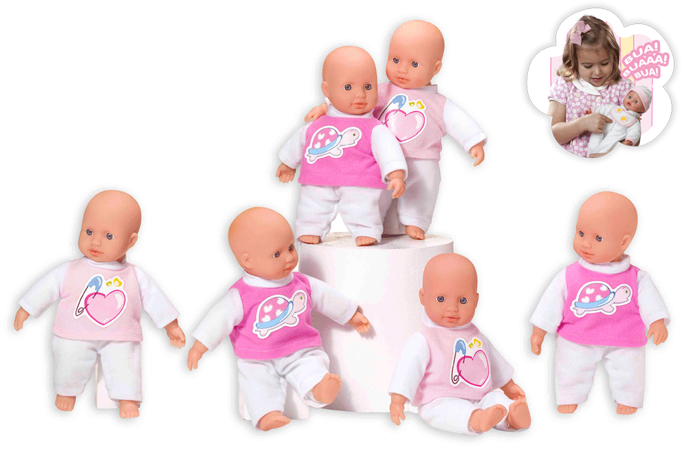 Baby Doll Crying - My Dolly Sucette From Loko Toys