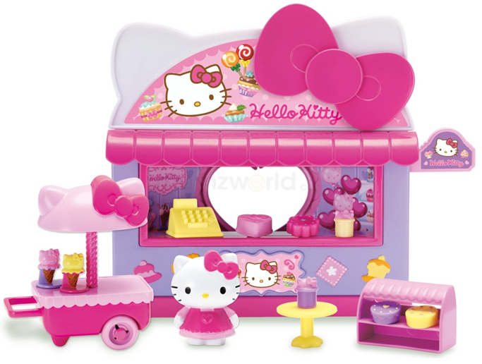 Hello Kitty Sanrio Fun Fair Kiosk Playset