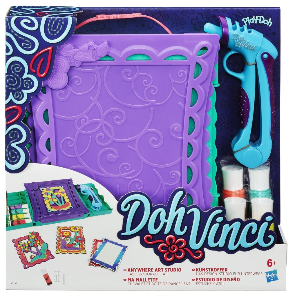 Play Doh DohVinci Anywhere Art Studio Playset