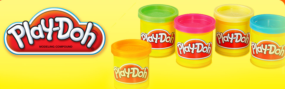 Play-doh Making the Mold
