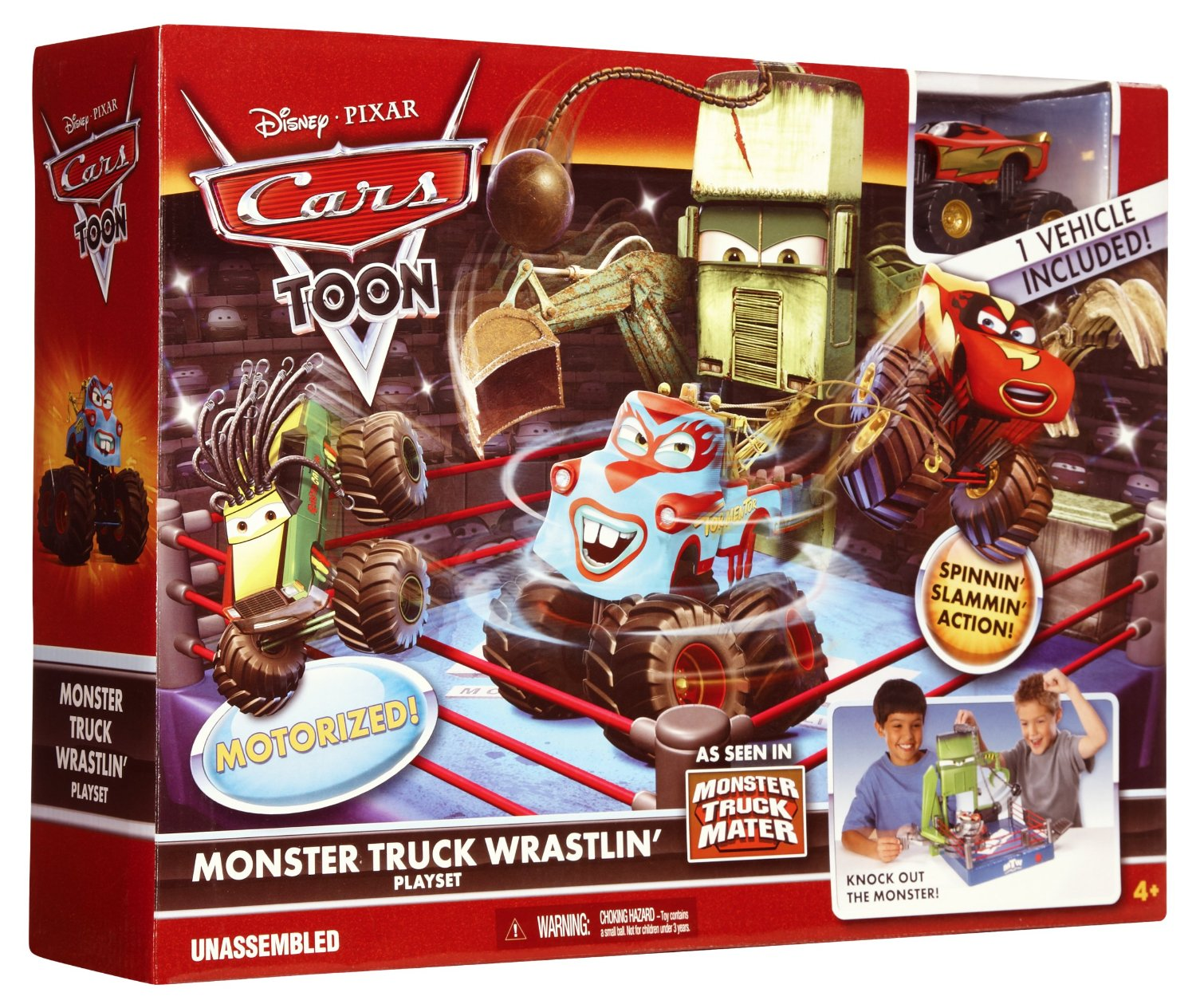 Cars Toon Mater S Tall Tales Monster Truck Mater