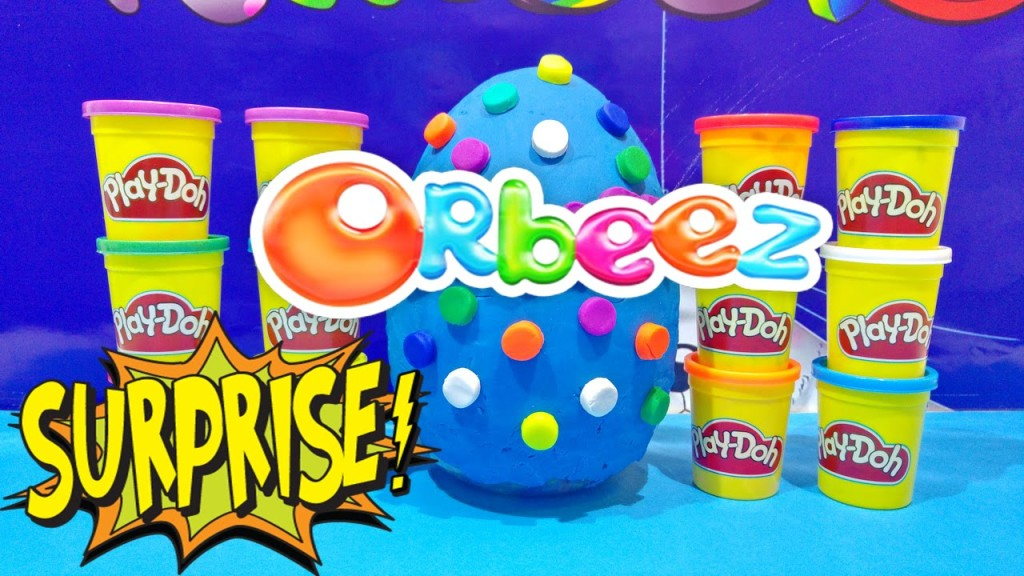 ORBEEZ GIANT EGG & Play Doh