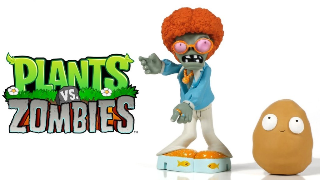 Play Doh Plants vs Zombies Toys