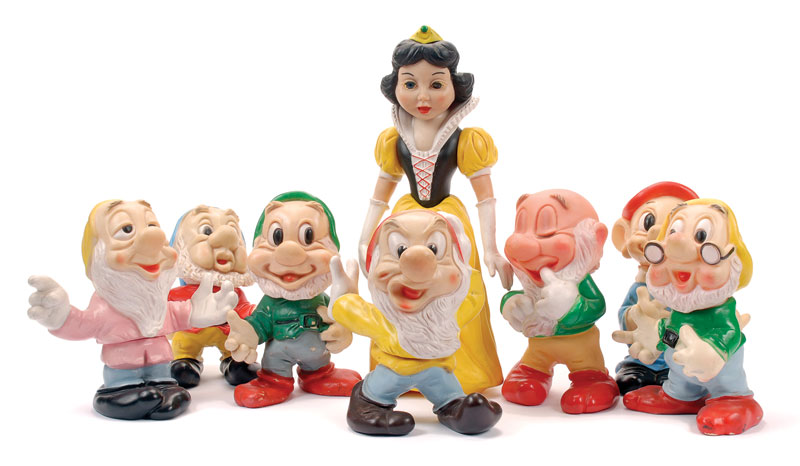 Snow White and the Seven Dwarfs Play Doh Unboxing Surprise Toys