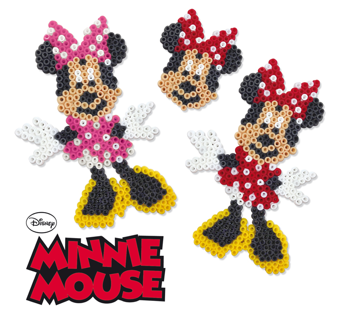 Disney Minnie Mouse Beads SES Creative Playset