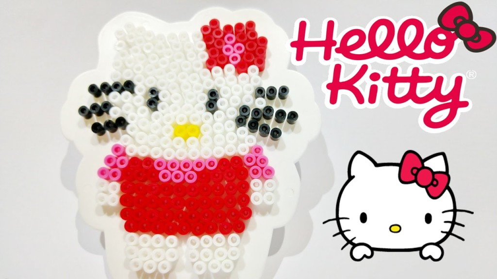 Hello Kitty Beads SES Creative Perlamatic & Plate