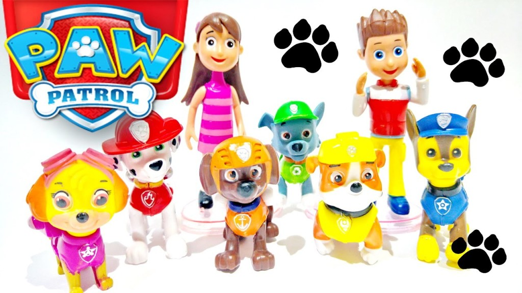 PAW Patrol Play Doh Surprise Toys