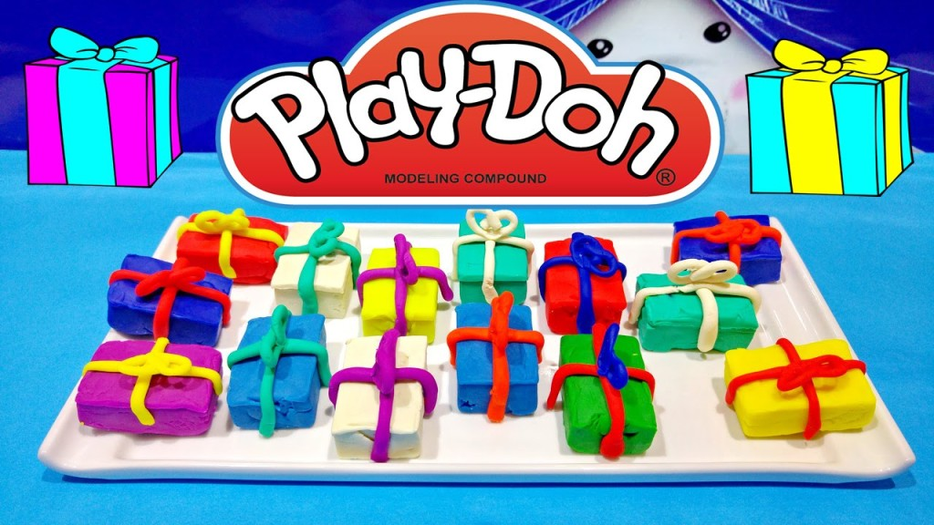 Play Doh Surprise Birthday Presents Unboxing Toys