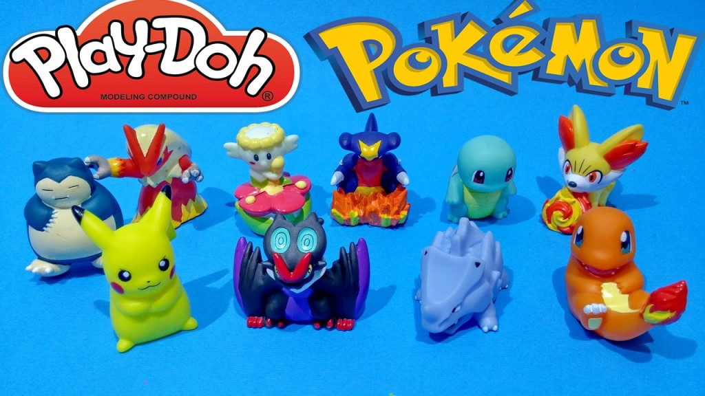 Pokemon Play Doh Surprise Eggs Unboxing Toys Video Opening For Kids Worldwide