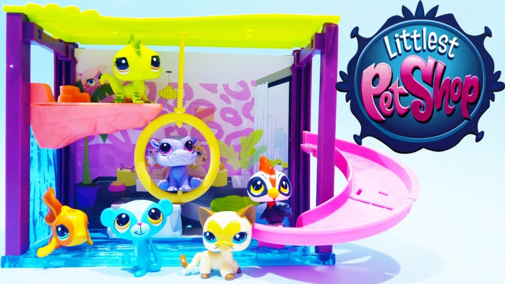 Littlest Pet Shop LPS Toys Pawza Pool Style Playset